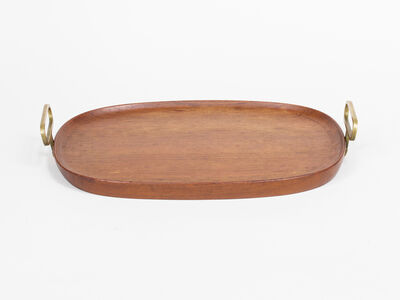 Carl Auböck, 'Wooden Tray with Handles', ca. 1950s