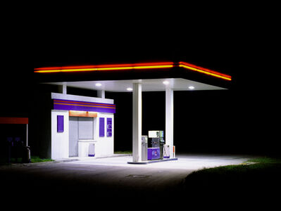 Ralf Peters, 'Petrol Station (Blue Red Yellow)', 1998