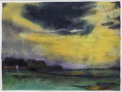 Emil Nolde, 'Abendhimmel', ca. 1930