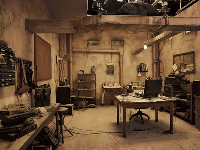 Anderson & Low, 'Secret Room, Tangier Hotel, from »On the Set of James Bond's Spectre«', 2015