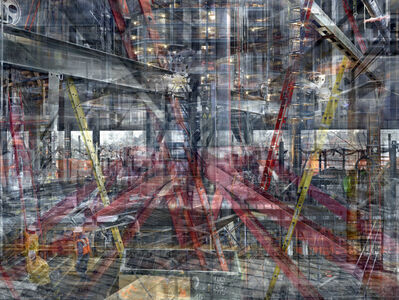Shai Kremer, 'World Trade Centre: Concrete Abstract # 13', 2001-2012