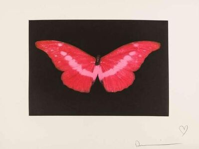 Damien Hirst, 'Red Butterfly', 2008