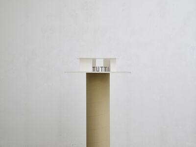 Markus Raetz, 'Persone in padiglione (IOTUNOITUTTI)', 1996-1999
