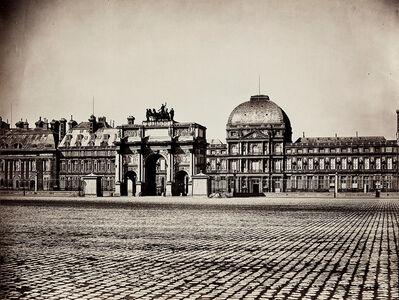 Gustave Le Gray, 'Palais des Tuileries, Place du Carrousel, Arc de Triomphe et Façade Est, Paris', 1856