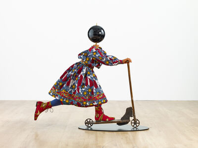 Yinka Shonibare CBE, 'Planets in My Head, Scooter Girl', 2019