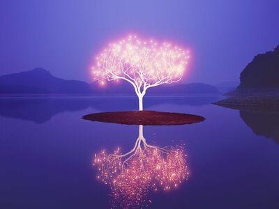 Lee Jeonglok, 'Tree of Life', 2017