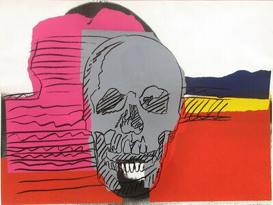 Andy Warhol, 'Skull 159', 1976