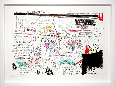 Jean-Michel Basquiat, 'King Brand', 1982-83/2019