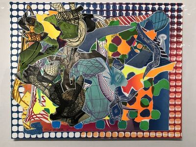Frank Stella, 'East Euralia, from Imaginary Places', 1995