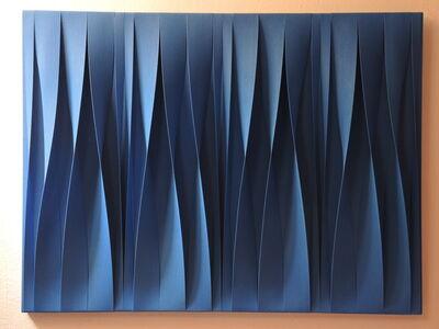 Pino Manos, 'Sincronicitá blu cobalto', 2015