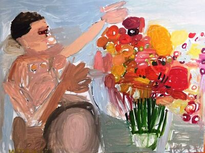 Maryam Alakbarli, 'Fleurs pour mademoiselle', 2016