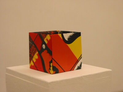 Pierre Bismuth, 'Origami boxes: one thing made of another, one thing used as another (Gilbert & George)', 2004