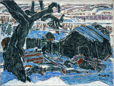 David Milne, 'Abandoned House', 1922