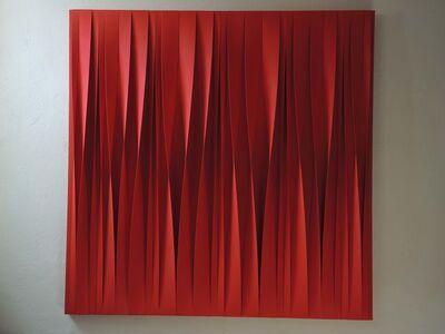 Pino Manos, 'Sincronico rosso in divenire', 2015
