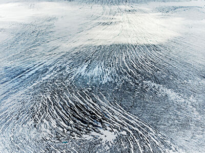 Henrik Saxgren, 'Glacier Surface', 2016
