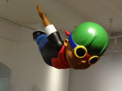 Hebru Brantley, 'Feather', 2014