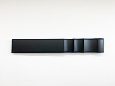 Robert William Moreland, 'Untitled Monochrome Black Bar', 2020
