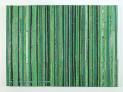Adel Abdessemed, 'Cocorico paintings, Si tu niñez ya fábula de fuentes', 2017-2018