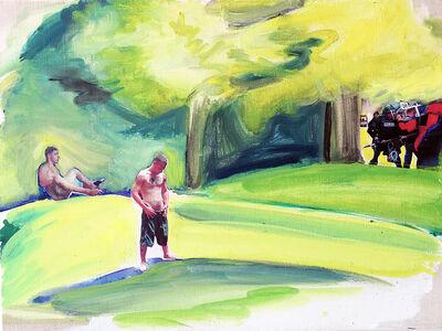 Carl James Ferrero, 'Yellow Hill', 2014