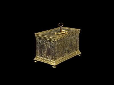 Anonymous, 'Erotica Casket', South German-circa 1550