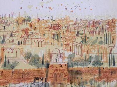 Shmuel Katz, 'The Old City of Jerusalem', 20th Century