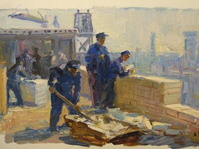 Aleksandr Nikiforovich Chervonenko, 'Workers', 1968