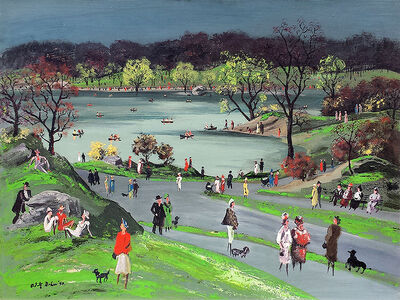 Adolf Arthur Dehn, 'Central Park'