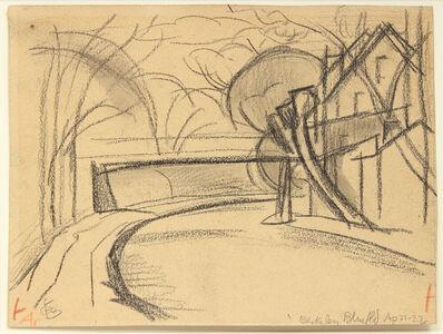 Oscar Bluemner, 'Bloomfield', 1922