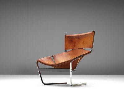 Pierre Paulin (1927-2009), 'Easy Chair model 'F-444' in Cognac Leather', ca. 1962