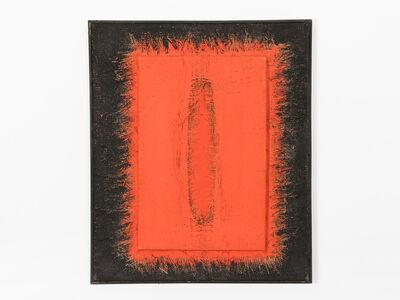 Hanna Eshel, 'Untitled (6) -- Double Collage Rouge', 1970