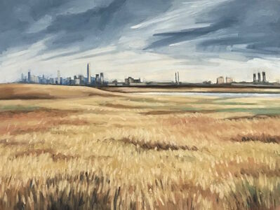 Katie Weiss, 'Field and City', 2019