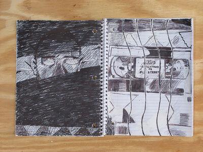 Matt Bollinger, 'The House on Weirdfield Street, Notebook 1', 2015