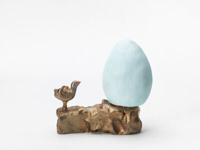 Urs Fischer, 'Small Bird, Big Egg', 2011