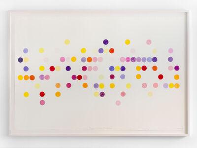 Spencer Finch, 'Blooming Calendar (my garden)', 2020