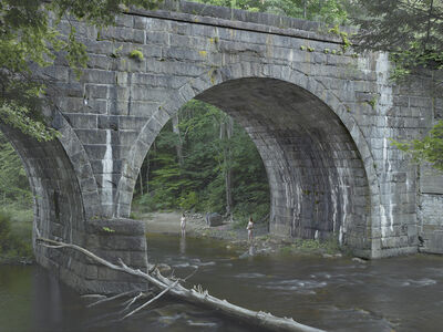 Gregory Crewdson, 'Beneath the Bridge', 2014