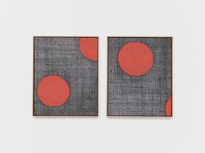 Lisa Oppenheim, 'Jacquard Weave (Polka Dots)', 2017