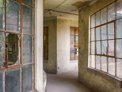 Lee Backer, 'Corridor to Isolation Ward, Ellis Island Hospital', 2017