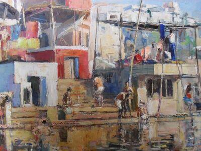 Anthony Eyton, 'Benares'