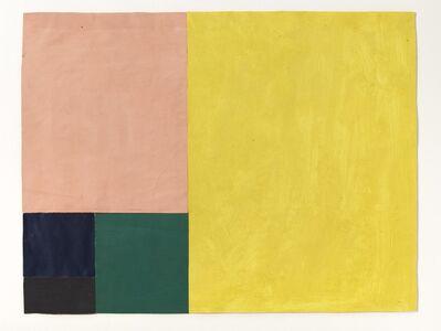 Arnulf Rainer, 'Proportion, Ohne Titel', 1953