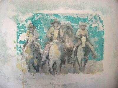 Nicole Charbonnet, 'Cowboy with Horses'