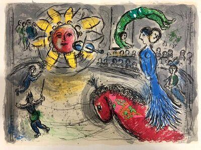 Marc Chagall, 'Derrière le Miroir', 1979