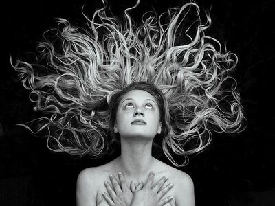 Tyler Shields, 'Hair', 2014