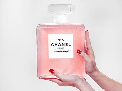 Tyler Shields, 'Chanel Champagne'