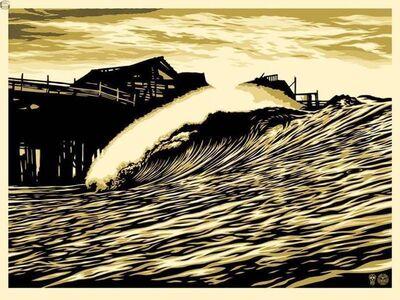 Shepard Fairey, 'Pop Wave Gold Edition', 2016