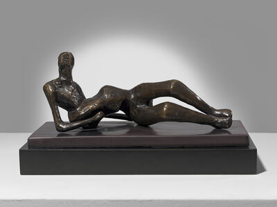 Henry Moore, 'Maquette for Reclining Figure No 2', 1952
