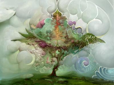 Burton Gray, 'Tree of Life', 21st century