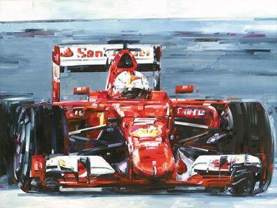 Michael Kagan, 'Vettel Malaysia', 2015