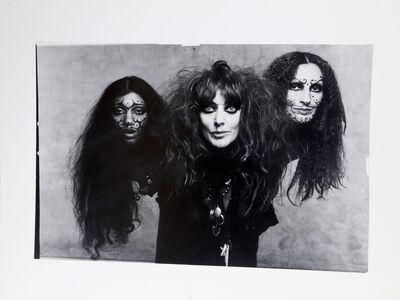 Francesco Scavullo, 'Vali Myers, Asha Puthli and Cheyenne', 1970