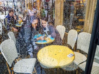 "William Albert Allard, '""Cafe window, Rue de Rivoli,"" Paris, 2015', 2015"