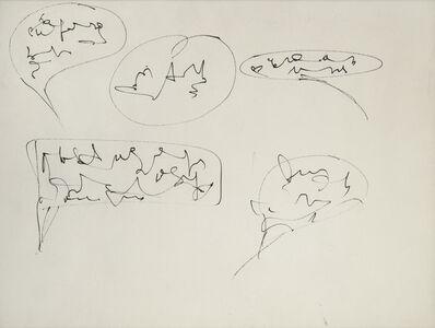 Gil J. Wolman, 'La bande à Canson', 1962